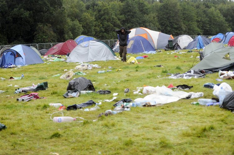 Steel cups and banning plastic cutlery  How music festivals are trying to  combat waste 7553dcd7accf