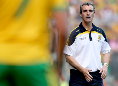 Jim McGuinness (file pic).
