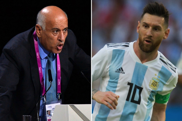 de23749867f Palestinian FA boss gets 12-month Fifa ban for  inciting hatred and  violence  with Messi comments