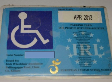 The original permit holder for this permit had been dead six years when it was seized.