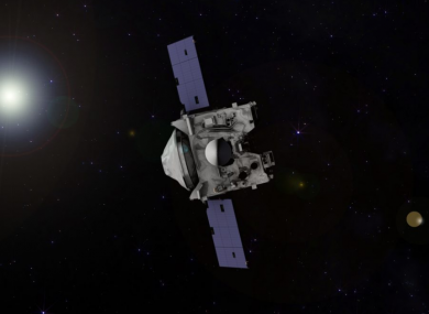 The probe has been travelling for billions of kilometres.