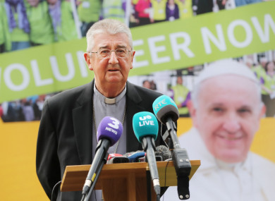 Archbishop Martin praised Pope Francis but says he hopes the pontiff will speak
