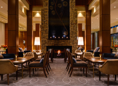 The Sycamore Room in the Druids Glen Hotel