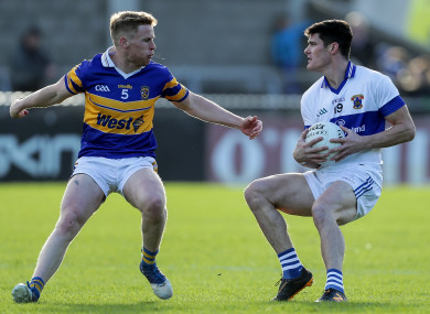 On they go: Diarmuid Connolly and St Vincent's are in the last four.