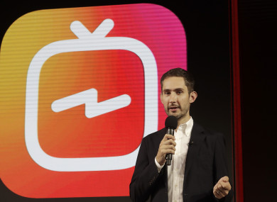 Kevin Systrom, CEO and co-founder of Instagram.
