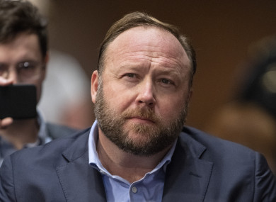 Alex Jones aT the United States Senate Select Committee on Intelligence hearing.