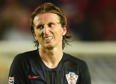 Modric paid €1 million at the start of the case, and it has been agreed that he must now pay 40 per cent of the fee that was defrauded.