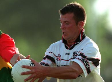 Taylor in action for Sligo back in 2001.