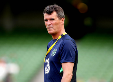 Ireland assistant boss Roy Keane (file pic).