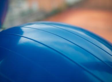 File photo of a yoga ball