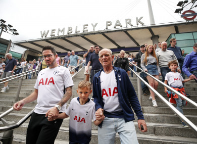 Tottenham will call Wembley home for a while longer.
