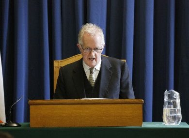 Justice Peter Charleton