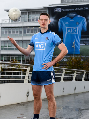 Brian Fenton at the AIG Dublin GAA Jersey Launch.