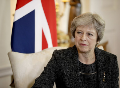 May faces Brexit showdown with EU leaders today amid talks