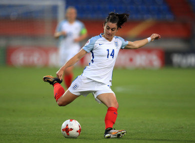 Karen Carney was subjected to abhorrent abusive messages on Instagram.