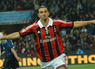 factory price 52fe3 51896 Ibrahimovic to Milan talk branded 'hot air' by AC boss ...