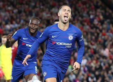 Eden Hazard has impressed for Chelsea this season.