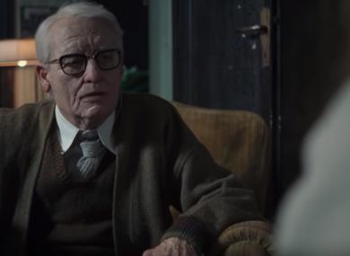 Swinton as 82-year-old psychoanalyst Dr Josef Klemperer