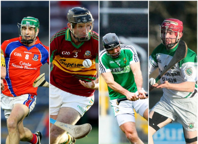 St Thomas, Gort, Liam Mellows and Sarsfields are all still in action.
