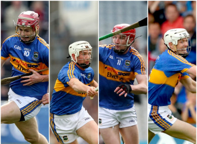 Curran, Maher, McCarthy and Cahill are all on the treatment table for Tipperary.
