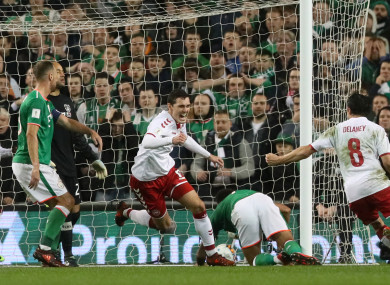 The Republic of Ireland will have nightmares over their last encounter with Denmark.