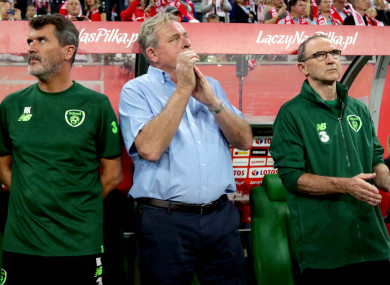 Roy Keane and Martin O'Neill have been under serious pressure since last month's 4-1 defeat in Cardiff.