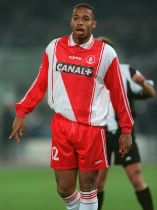 Thierry Henry during his playing days at Monaco.