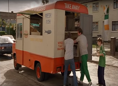 The four-wheeled prop from the 1996 adaptation of Roddy Doyle's 'The Van'