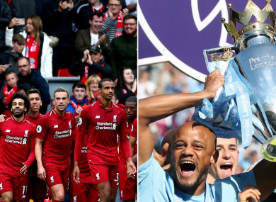Liverpool and Man City will do battle at Anfield.
