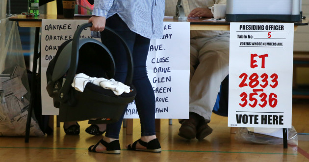 As it happened: Áras candidates and politicians cast their votes this morning