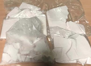 Drugs seized yesterday.