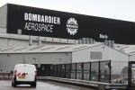 The Bombardier Aerospace plant in Belfast