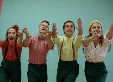 Performers Rosie O'Regan, Jimmy Bray, Sam Meyler and Kim McCafferty