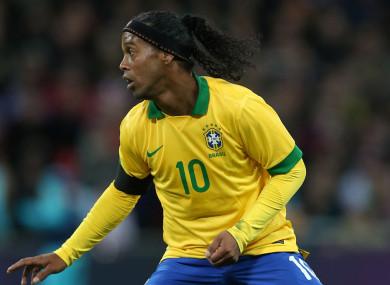 Ronaldinho (file pic).