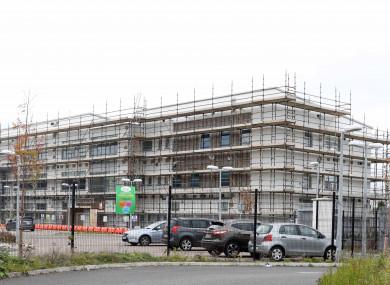Damaged School Buildings at Ardgillan Community College