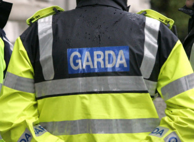 File photo of gardaí