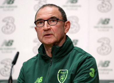 Martin O'Neill: confident he can turn things around for Euro qualifiers.