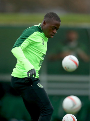 Michael Obafemi pictured during Ireland training.