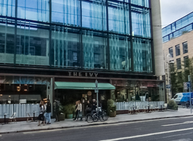 The Ivy, Dawson Street, Dublin.