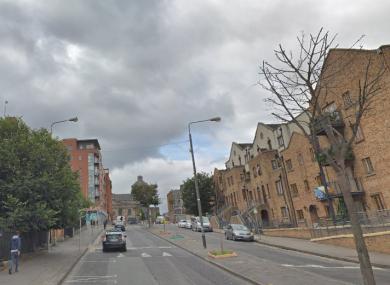 File photo of Bridgefoot Street in Dublin 8