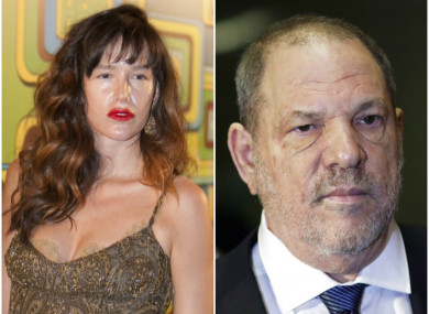 Actress Paz de la Huerta filed a lawsuit accusing Harvey Weinstein of raping her in 2010.