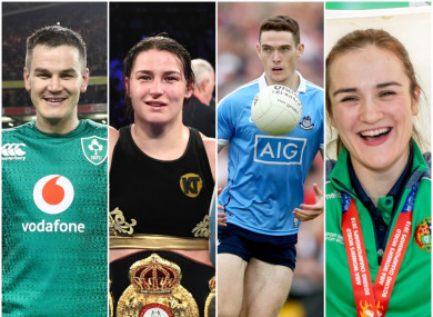 23 nominees have been included in the longlist for the RTÉ Sportsperson of the Year award.