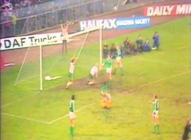 O'Neill was part of the Northern Ireland side that beat the Republic in a European Championships qualifier in 1979.