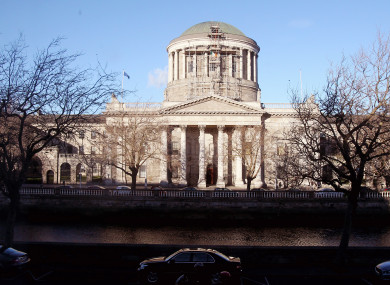 A general view of the Four Courts in Dublin.