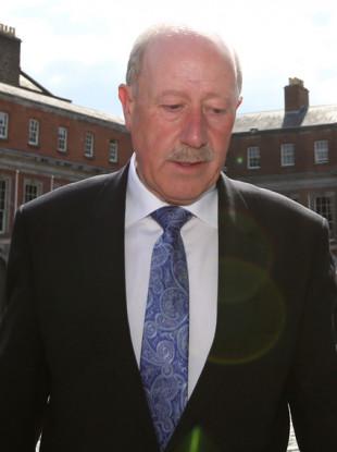 Former Garda Commissioner Martin Callinan at the Disclosures Tribunal.