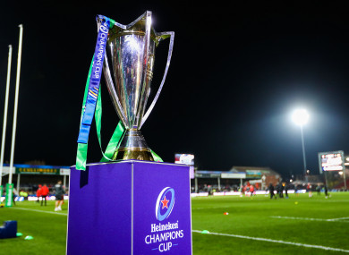 Leinster are aiming to defend the Heineken Cup.