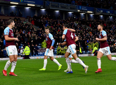 Relief for Burnley as they pick up a much-needed win against Brighton.