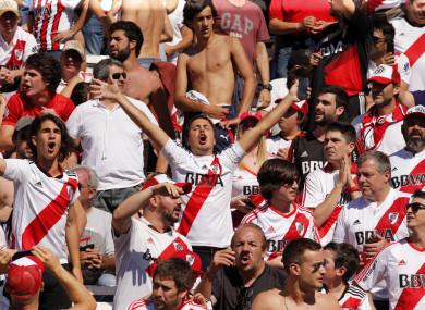 The Copa Libertadores second leg has been moved to Real Madrid's Santiago Bernabeu.