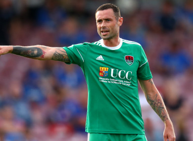 Delaney joined Cork City in June on an 18 month deal until the end of next season.