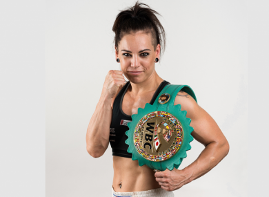 WBC World super-featherweight champ Eva Wahlstrom will challenge Katie Taylor for the Irishwoman's lightweight titles in New York.